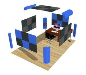 Foamrite Acoustic Treatment Studio Kit 2 Pro
