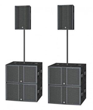 HK Audio L5LTS + L5SUB4000 Linear 5 Speaker Systems