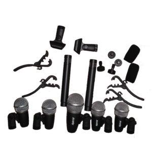 Hybrid DX7A 7 Piece Drum Mic Kit
