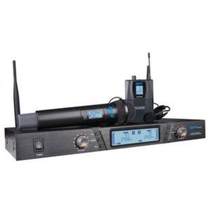 Hybrid G-DV Dual Handheld & Headset Wireless Mic System