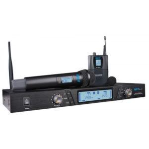 Hybrid G-DV Dual Handheld & Lapel Wirelesss Mic System