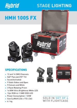 Hybrid HMH 100S FX Moving Head