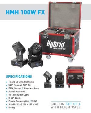 Hybrid HMH 100W FX Moving Head