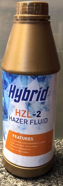 Hybrid HZL-2 High Density Haze Fluid 1L