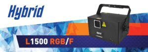 Hybrid L1500RGB/F Red, Green and Blue Laser – Beam & Animated Graphics