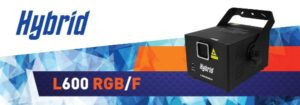 Hybrid L600RGB/F Red, Green and Blue Laser – Beam & Animated Graphics