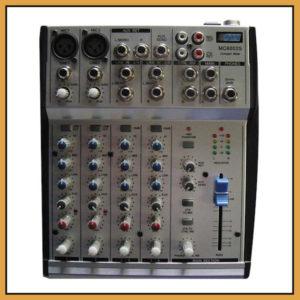 Hybrid MC6002S Desk Top Bank Mixer