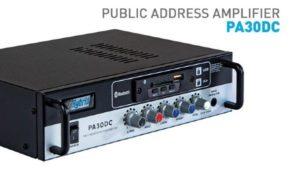 Hybrid PA30DC Public Address Amplifier