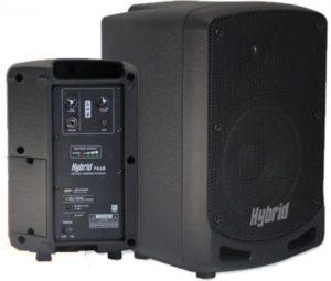 Hybrid PA6B 6inch 25W Battery Powered Portable Speaker