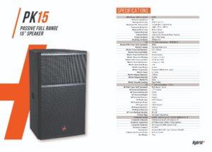 Hybrid+ PK15 15″ Speaker