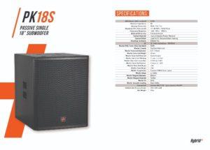 Hybrid+ PK18S 18″ Sub-Bass