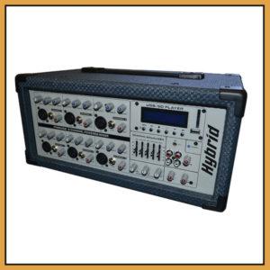 Hybrid PM6 Powered Desk Top Mixer