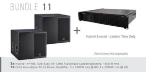 Hybrid+ Bundle 11- HP18X & P2.25