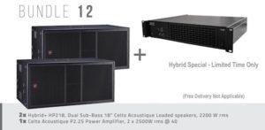 Hybrid+ Bundle 12 – HP218 & P2.25