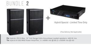 Hybrid+ Bundle 02 – PK15 MAX & B1200 MK6