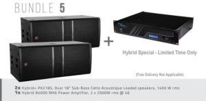 Hybrid+ Bundle 05 – PK218S & B4000 MK6