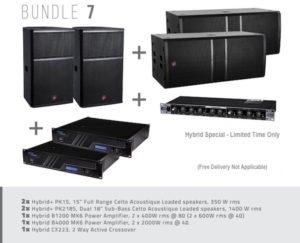 Hybrid+ Bundle 07 – PK15/PK218S & B1200/B4000 & CX223