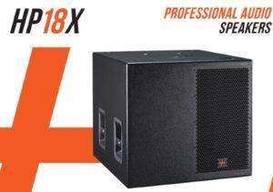 Hybrid+ HP18X High Power 18″ Passive Sub-Bass Speaker 1500w 101dB