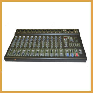 Hybrid SC12230P Powered Desk Top Mixer