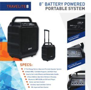 Hybrid TraveLite8 Combo speaker