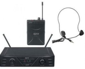 Hybrid U-SV MK2 UHF Wireless Headset Microphone System