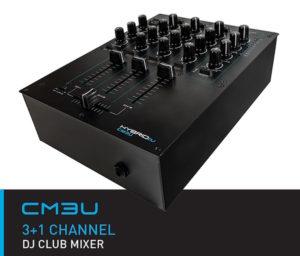 HybridDJ CM3U 3+1 DJ Club Mixer USB
