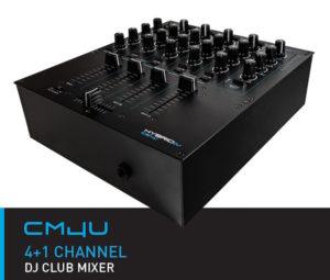 HybridDJ CM4U 4+1 Channel DJ Club Mixer USB