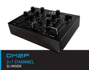 HybridDJ DM2P 2+1 DJ Mixer USB