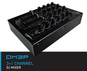 HybridDJ DM3P 3+1 DJ Mixer USB