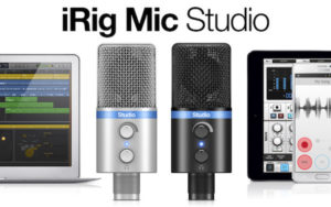IK Multimedia Studio Digital Microphone for iPhone, iPad, iPod touch, Mac, PC and Android