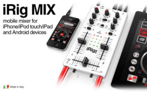 IK Multimedia iRig MIX Mobile Mixer for Android and iDevices