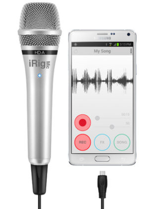 IK Multimedia iRig Mic HD-A  The first handheld digital microphone for Android and PC