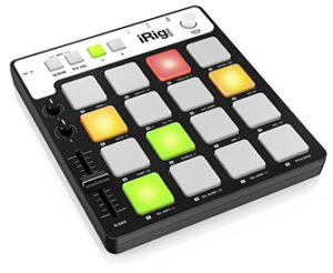 IK Multimedia iRig PAD Groove Controller for iPhone, iPad, iPod touch, Mac and PC