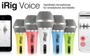 IK Multimedia  iRig Voice Handheld microphone for iPhone, iPod touch, iPad and Android