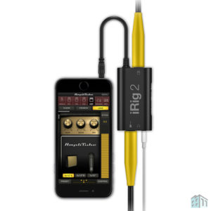 IK Multimedia iRig 2 Guitar Interface for iPhone, iPad, iPod touch, Mac or Samsung