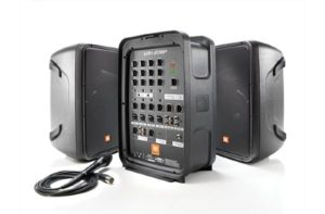 JBL EON208P Portable 8″ 2-Way PA with Powered 8-Channel Mixer and Bluetooth