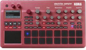 Korg Electribe 2 Sampler Red Synthesizer