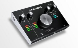 M-Audio M-Track 2X2M  2-In/2-Out 24/192 USB Audio / MIDI Interface