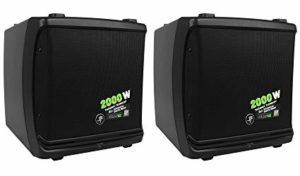 Mackie DLM12 2000W 12″ Powered Speaker (Pair)