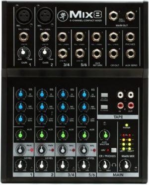 Mackie Mix8 Mixer