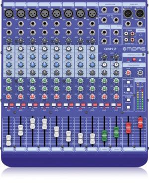 Midas DM12 12 Input Analogue Live and Studio Mixer
