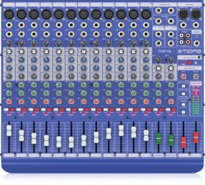 Midas DM16 16 Input Analogue Live and Studio Mixer