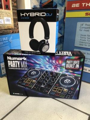 Numark Party Mix Hybrid Headphone – DJ Combo