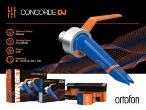 Ortofon Concorde MkII DJ (pair)