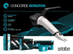 Ortofon Concorde MkII Scratch (pair)