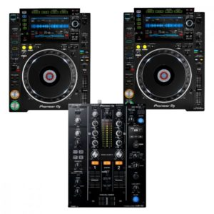 Pioneer 2 x CDJ2000 NXS2 + DJM450 Combo