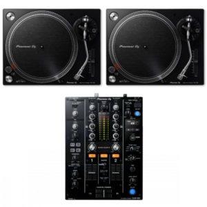 Pioneer 2 x PLX500 + DJM450 Combo