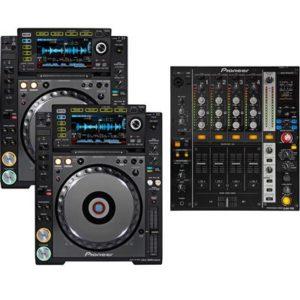 Pioneer CDJ-900 NXS2 & DJM900 NXS2 – Bundle