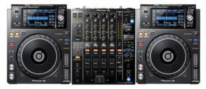 Pioneer 2 x XDJ-1000 MK2 + DJM-900NXS2 Combo