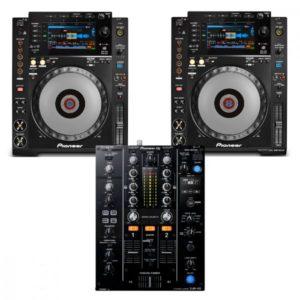 Pioneer 2 x CDJ900 NXS + DJM450 Combo